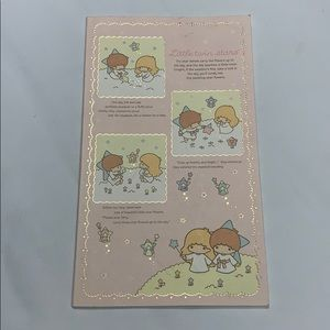 Little twin stars Sanrio notebook